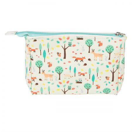 Whimsical Woodland Makeup Bag