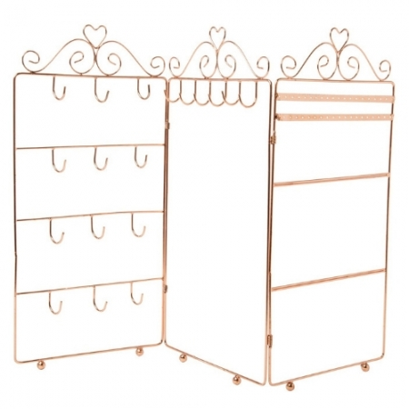 Sass and Bell Triple Jewellery Stand Copper