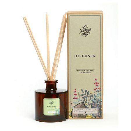 The Irish Soap Company Lavender, Rosemary & Mint Diffuser