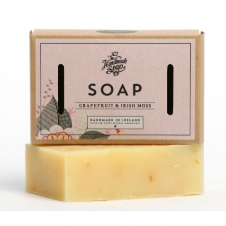 Irish Handmade Soap Company Grapefruit & Irish Moss Soap