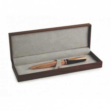 Tipperary Crystal Rose Gold Pen & Box