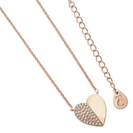 Tipperary Crystal Heart Necklace