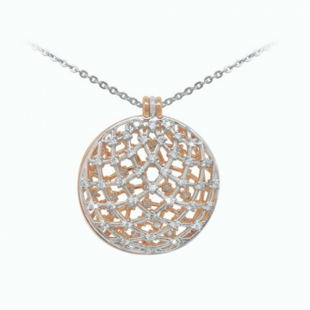 Tipperary Crystal Domed Pendant