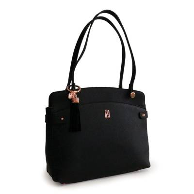 Tipperary Crystal Black Siena Shoulder Bag