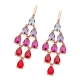 Tipperary Crystal Morocco Chandelier Earrings
