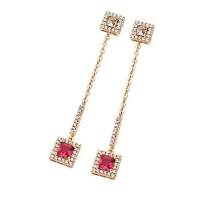 Tipperary Crystal Princess Summer Drop Earrings