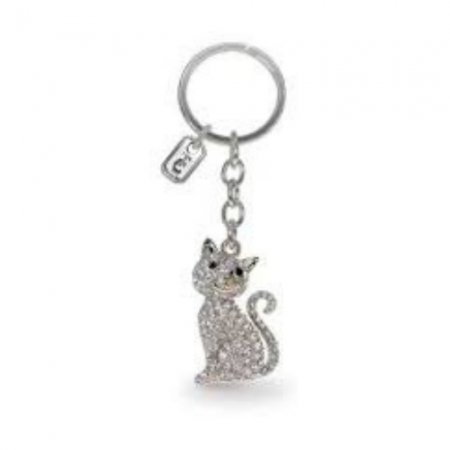 Tipperary Cat Sparkle Keychain