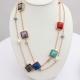 Shira Designer Jewellery Gemstone Long Necklace