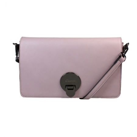 This Gionni bag is the perfect companion to daytime outfits in the new spring lilac colour with a crossbody strap and a structured shape.