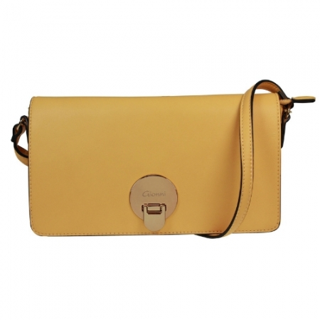 Gionni Front Flap Mustard Bag
