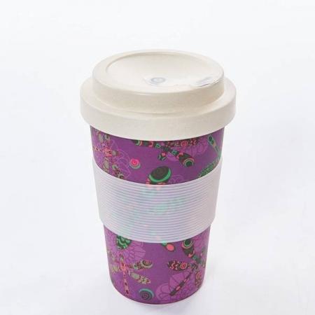 Eco Chic Dragonfly Bamboo Travel Mug