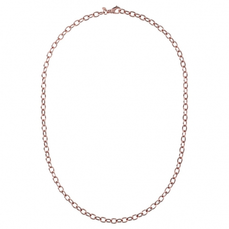 Bronzallure Long Link Chain in Rose Gold Plated