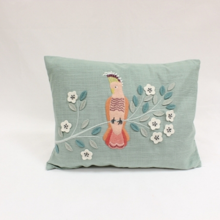 Tropical Parrot Cushion From Walton Lifestyle